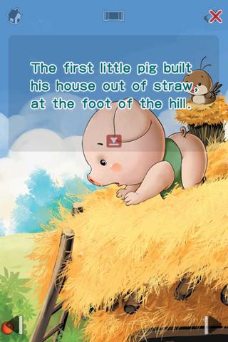 它讲述了三只小猪盖房子的
