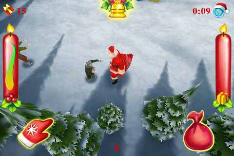 Screenshot Santa VS Zombies 3D!